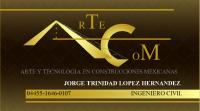 Logo Arte y Tecnologia En Constrcciones Mexicanas